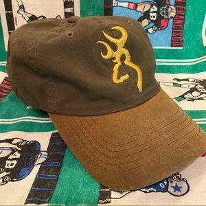 Browning Outdoors Deer Logo Adjustable Hat